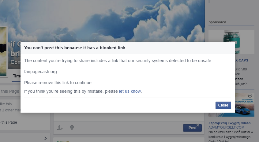 fanpagecash.org blocked